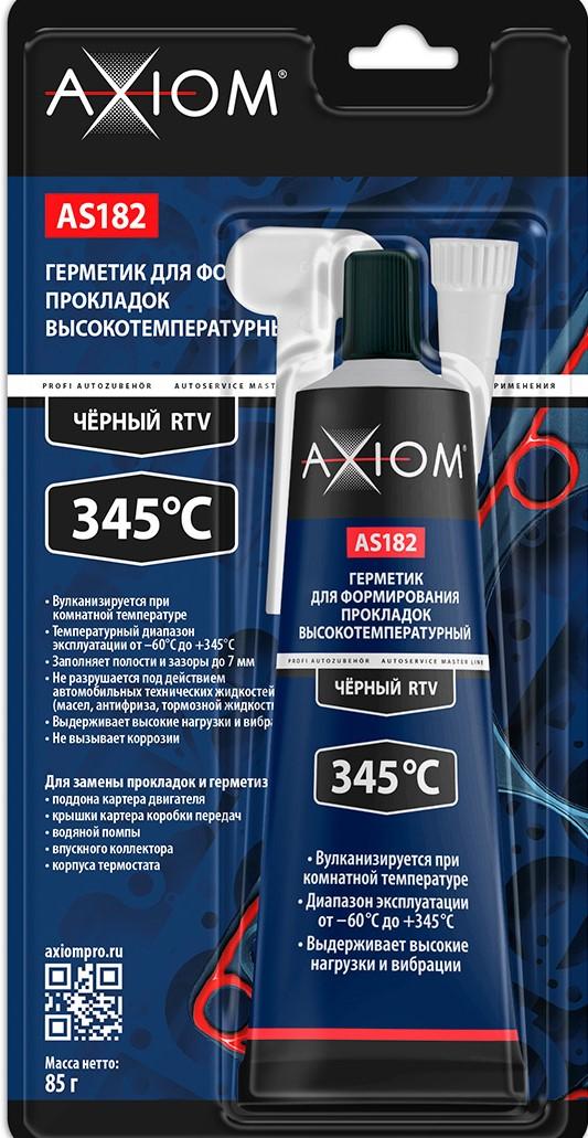 AS182 Герметик д/формир прокладок высокотемп черный 85г