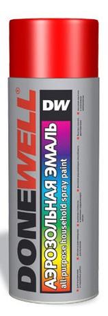 DW-1003 Эмаль универсальная красная 520мл
