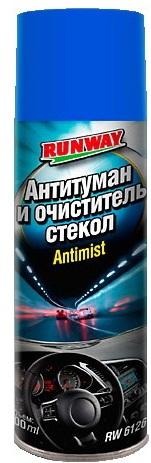 RW6126 Антитуман и очиститель стекол  300мл аэр